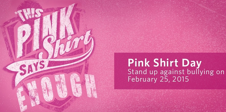 Pink Shirt Day – February 25, 2015 | Big Brothers Big Sisters of ...